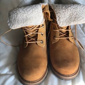 Teddy Fleece Timberland Boots